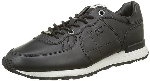Pepe Jeans London - Zapatillas Hombre, Negro (Black), 42 (EU)