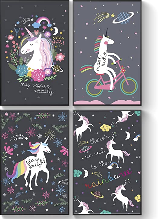 Unicorn Poster  Print A3..A4..A5 Options