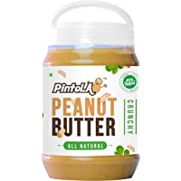 Pintola All Natural Crunchy Peanut Butter, 2.5Kg (Unsweetened, Non-GMO, Gluten Free, Vegan)