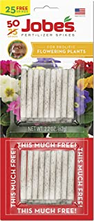 product image for Jobe's 05231T Flowering Plant Fertilizer Spikes 10-10-4, 1 Pack, Multicolor