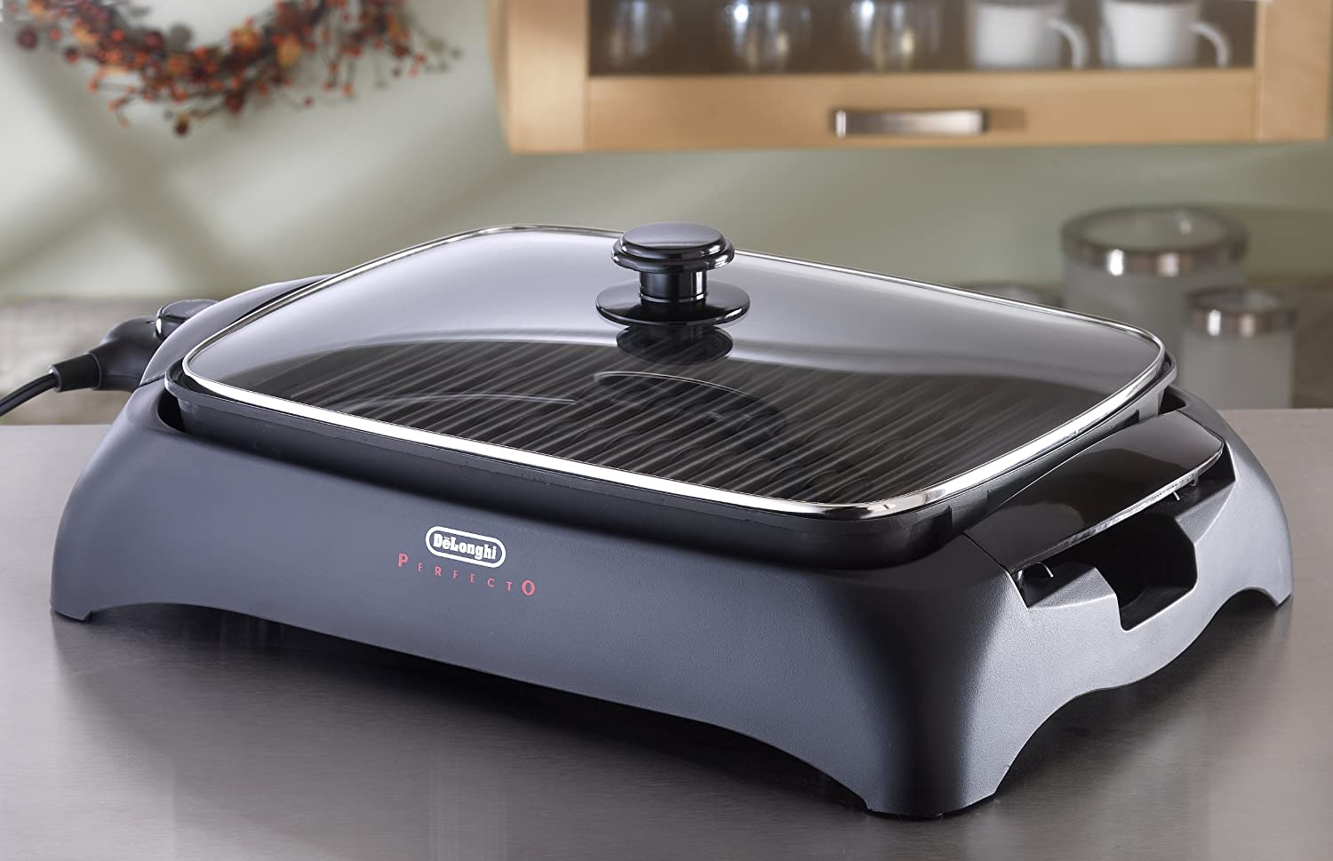Amazon.com: Delonghi BG24 Perfecto Indoor Grill: Contact Grills: Kitchen U0026  Dining