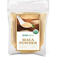 Healthworks Maca Powder Raw (16 Ounces / 1 Pound) | Certified Organic Flour Use | Keto, Vegan & Non-GMO | Premium…