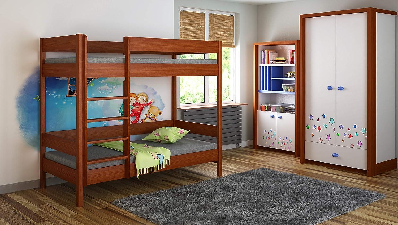 140x70, Erle Kinder Kinder Junioren Single ohne Matratze und ohne Schubladen Childrens Beds Home Etagenbetten