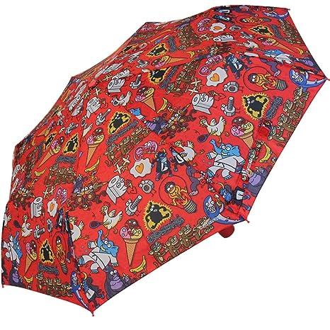 Paraguas plegable Kukuxumusu Elefante Verde