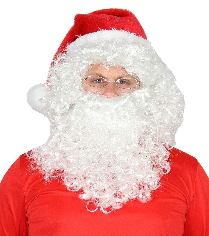 4 Weihnachtsmannkostüm mit für Herren ML Größe und teiliges Weihnachtsmann Mütze Kostüm Foxxeo Mantel Weihnachtsmann TOilwPkXuZ