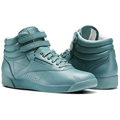 a6db335d3105d1 Image Unavailable. Image not available for. Color  Reebok Women s Classic  Freestyle Hi Color Bomb ...