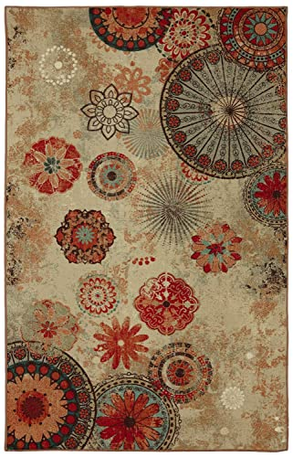 Mohawk Home Alexa Medallion Indoor Outdoor Printed Area Rug, 5 x8 , Multicolor