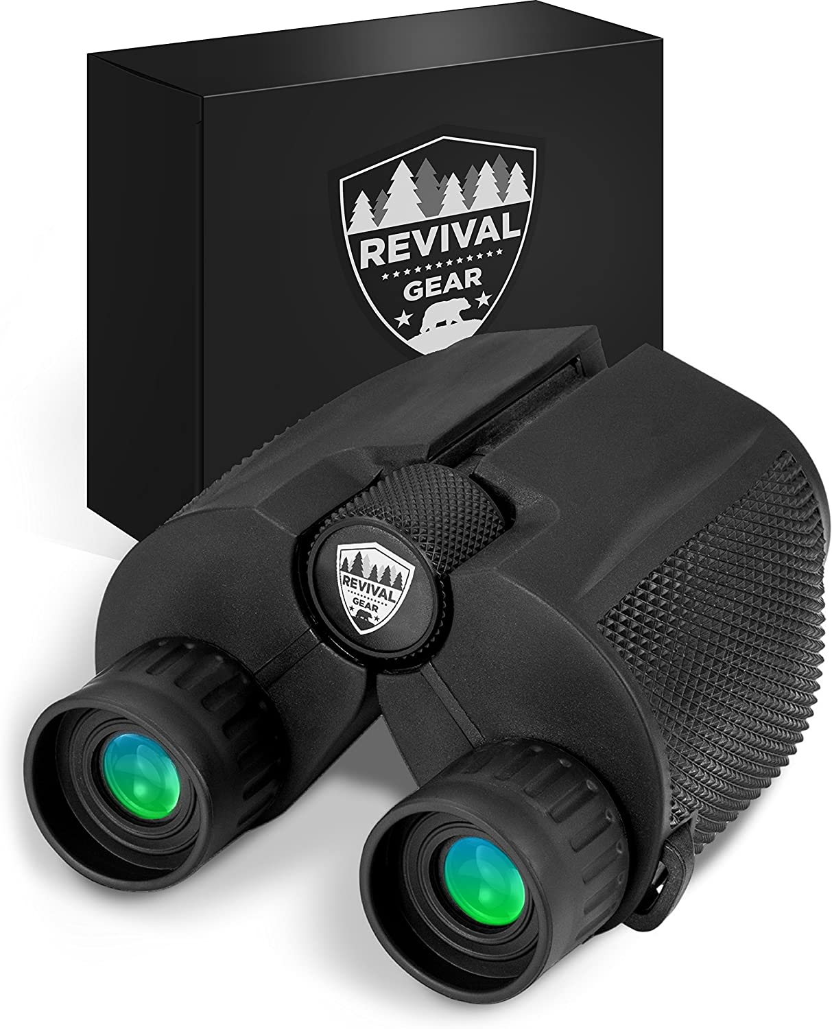 Powerful Compact Binoculars Tactical Durable Set That Everyone Finds Easy to Use. Includes Neck Strap Travel Case. Used When Hiking, Bird Watching, Pro Sports Games, Concerts, Hunting