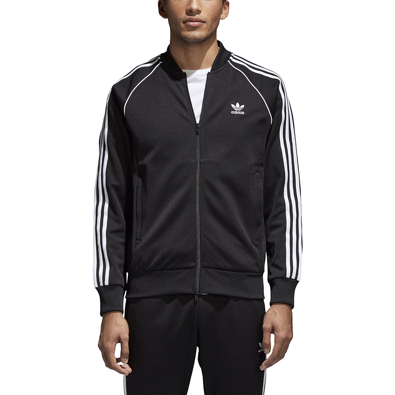 c74fe871bc8c Amazon.com  adidas Men s Superstar Track Jacket  ADIDAS  Clothing