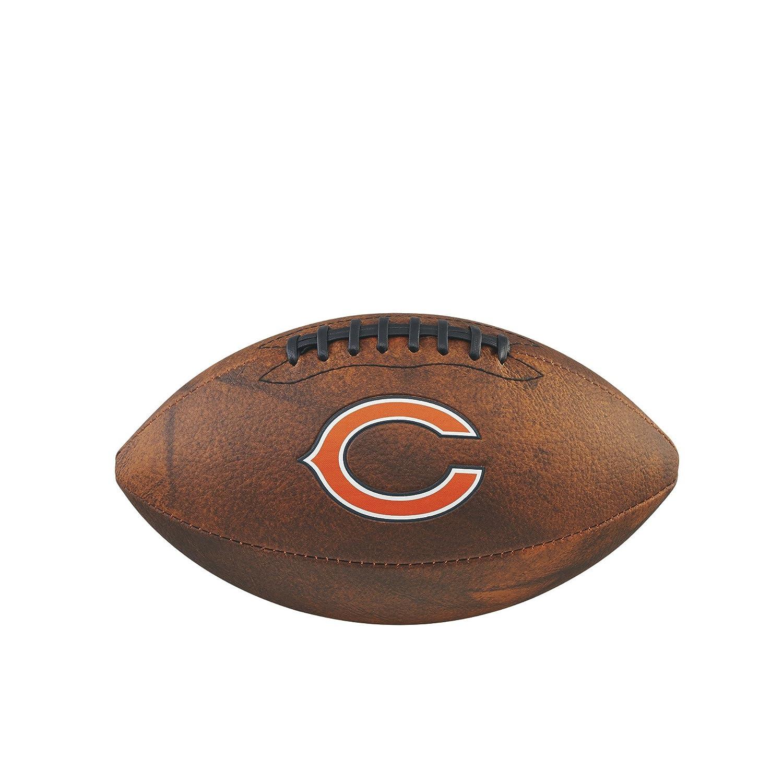 Game Master NFL Chicago Bears Ballon de football américain Marron 27, 9cm 9cm Wilson WTF1539XBCH