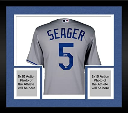 7d5ef994f Framed Corey Seager Los Angeles Dodgers Autographed Majestic Gray Replica  Jersey - Fanatics Authentic Certified