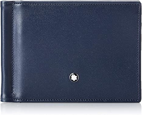 Mont-Blanc Genuine Leather Wallet For Mens Brown Wallet For Men Free Shipping