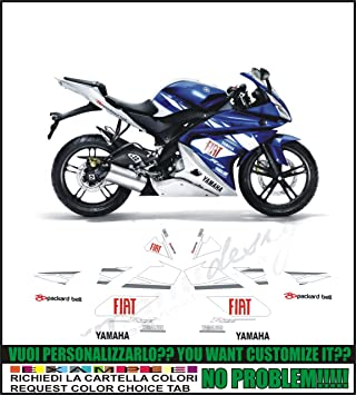 Kit Adesivi Decal Stikers Yamaha Yzf R125 Replica Moto Gp
