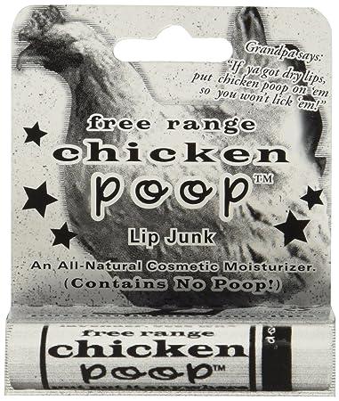 Simone ChickenboneChicken Poop Lip Balm Display