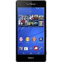 Sony Xperia Z3v, Black 32GB (Verizon Wireless)