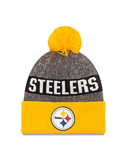 New Era NFL Pittsburgh Steelers 2016 Youth Reverse Team Color Sport Knit  Beanie 1bc02fb32