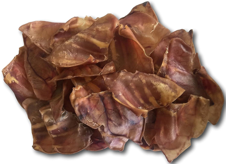 Pig Ears Natural Treats for Dogs -100 Pack – Bulk