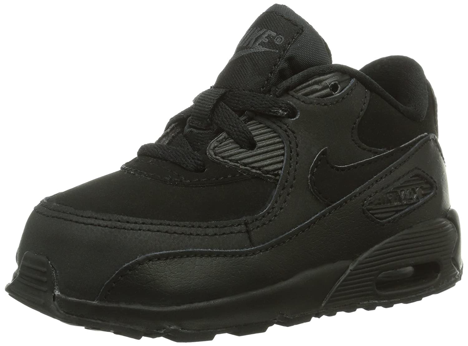 the best attitude 92daf a6a9f Amazon.com   Nike AIR MAX 90 (TD) 408110-091 Size 5 Black Dark Grey    Sneakers