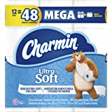 Charmin Ultra Soft Toilet Paper 12 Mega Rolls, 284 sheets per roll (packaging may vary)
