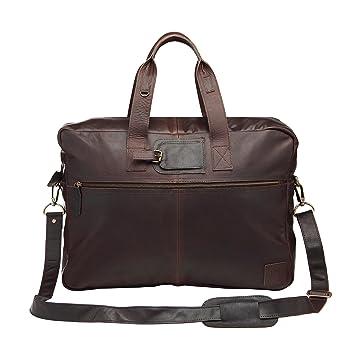Leather Holdall Weekend Bag Overnight Bag Work Bag in Vintage Mahogany by MAHI  Leather  Amazon.co.uk  Luggage adfdce9f3aee3