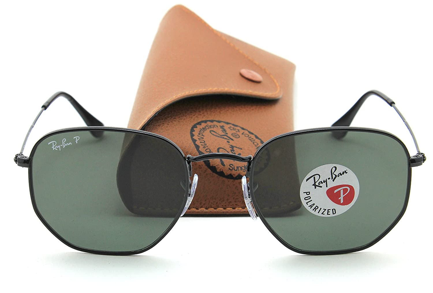 Amazon.com: Ray-Ban rb3548 N hexagonal plana Lentes ...