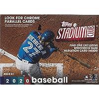 $49 » 2020 Topps STADIUM CLUB Baseball Series Blaster Box of Packs with EXCLUSIVE…