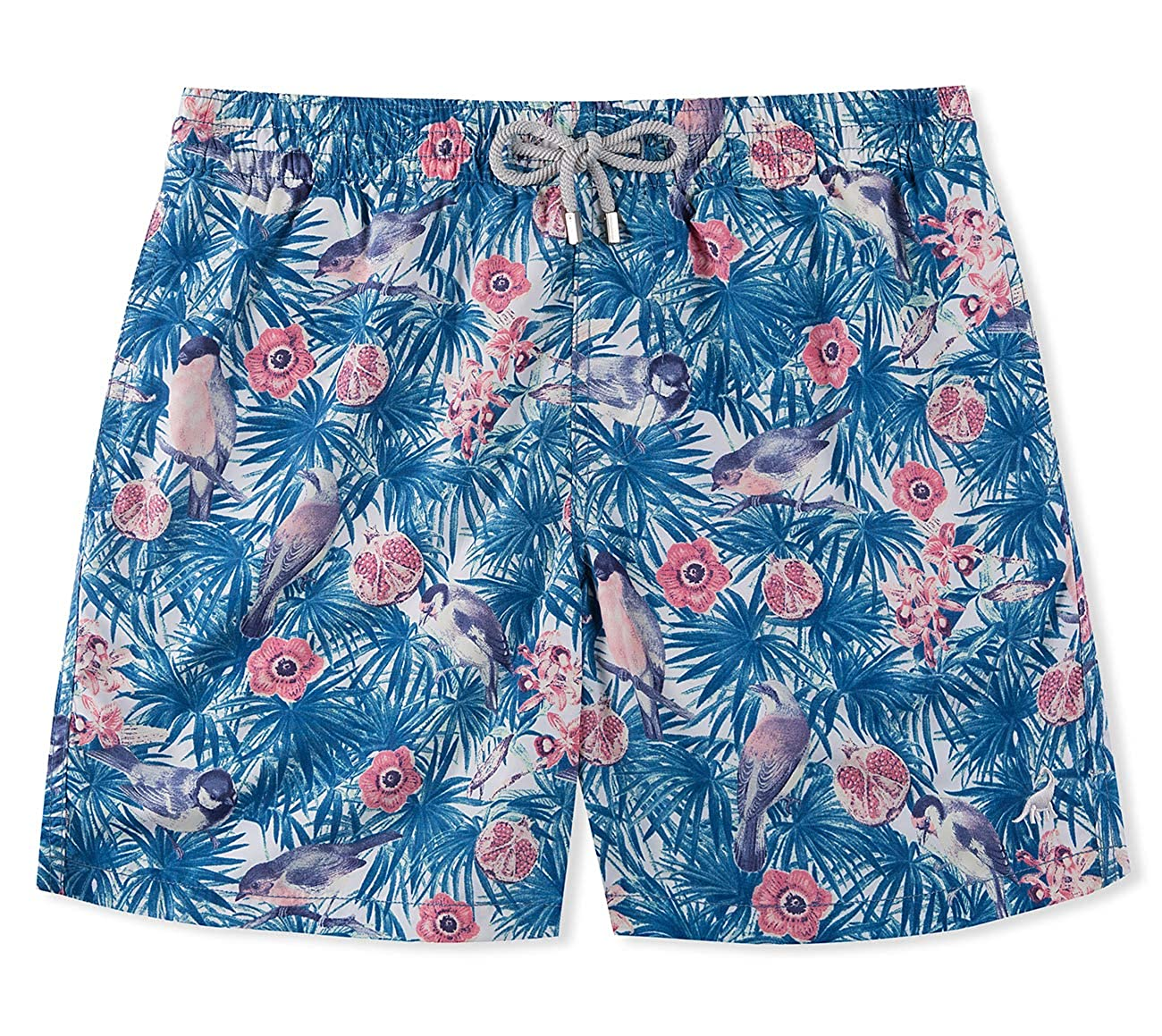 SURF CUZ Men's All Over Printed Quick Dry Beach Volley Swim Trunk SCBSZKM02