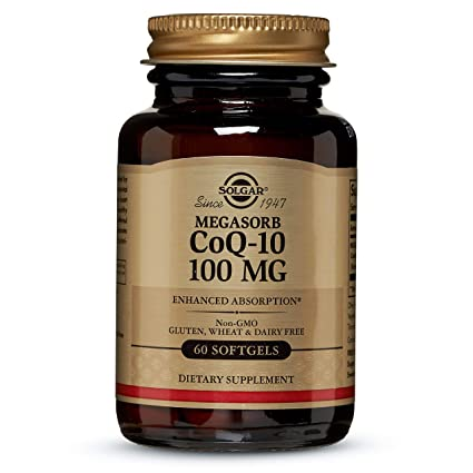 Solgar - Co Q 10, 100 mg, 60 softgels