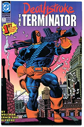 Amazon DEATHSTROKE The TERMINATOR 1 2 3 4 5 6 7 8 9 10 11 NM
