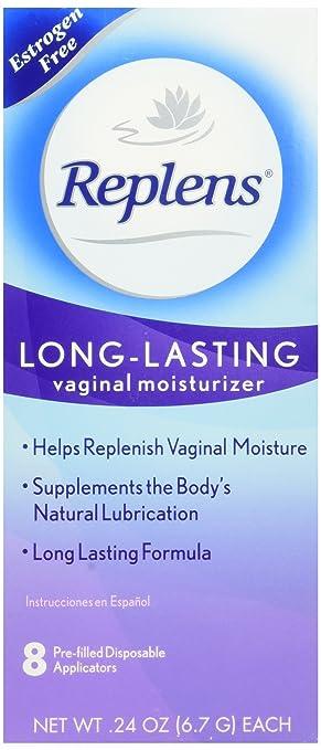 Replens, Vaginal Moisturizer, Estrogen free, Fragrance Free