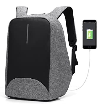CoolBELL Anti-theft Laptop Backpack With USB Charging Port Light-weight  Student Backpack 75a9bc4f04