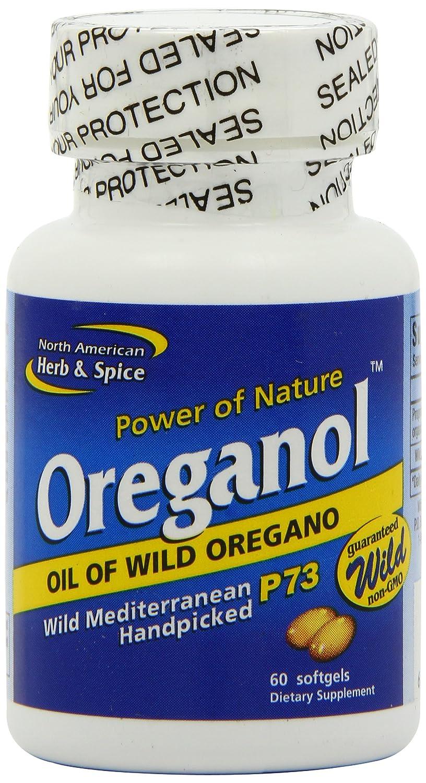 América del Norte de hierbas y especias, oreganol P73 gel-capsules, 60-Count: Amazon.es: Salud y cuidado personal