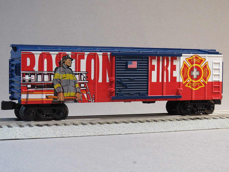 Rail King MTH ボストンファイア 部門 BOXCAR Oゲージ B07GT5N3CW