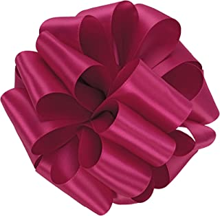 product image for Offray Single Face Satin Craft Ribbon, 7/8-Inch by 20-Yard Spool, Azalea