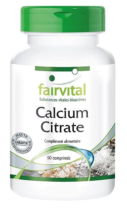 Calcio Citrato con 300 mg Calcio – 90 Pastillas – Substance Pure