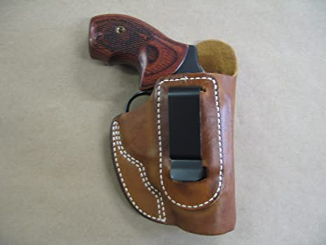 Charter Arms / Undercover Bulldog IWB Leather In The Waistband Concealed  Carry Holster TAN
