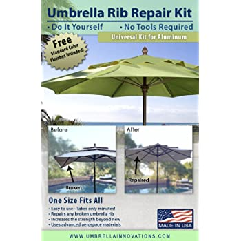 Amazon Com Patio Umbrella Rib Repair Kit For Aluminum