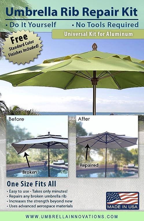 Marvelous Terrasse Regenschirm Rippe, Reparatur Set Für Aluminium