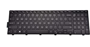 Replacement Keyboard for Dell Inspiron 15 3542 3543 3551 3552 5542 5545 5547 5755 5551 5558 5552 5758 5759 7557 7559 5559| 17 5000 5748 5749 5755 5758 5759 Series 0KPP2C 0KF8C3 No Backlight
