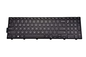 KBR Replacement Keyboard for Dell Inspiron 15 5000 Series 5542 5543 5545 5547 5548 5552 5557 5558 5559 New Version Laptop without Backlight