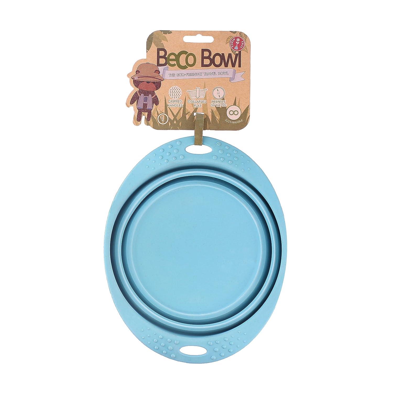 Beco–Ciotola da viaggio pieghevole, in silicone, per cibo e acqua Beco Things BBTS - 003