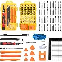 117 en 1 Juego de Destornilladores de Precisión con Pulseras Antiestaticas, Kit de Herramientas de Reparación de…