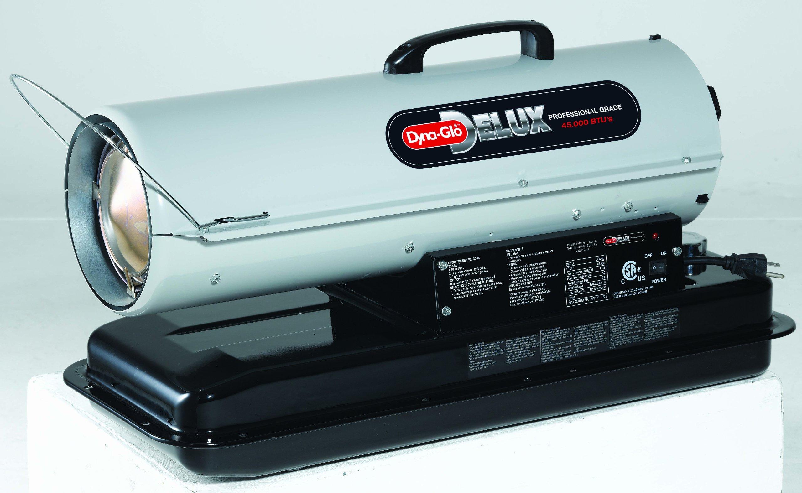 Dyna-Glo KFA50DGD 50,000 BTU Kerosene Forced Air Heater by Dyna-Glo (Image #2)
