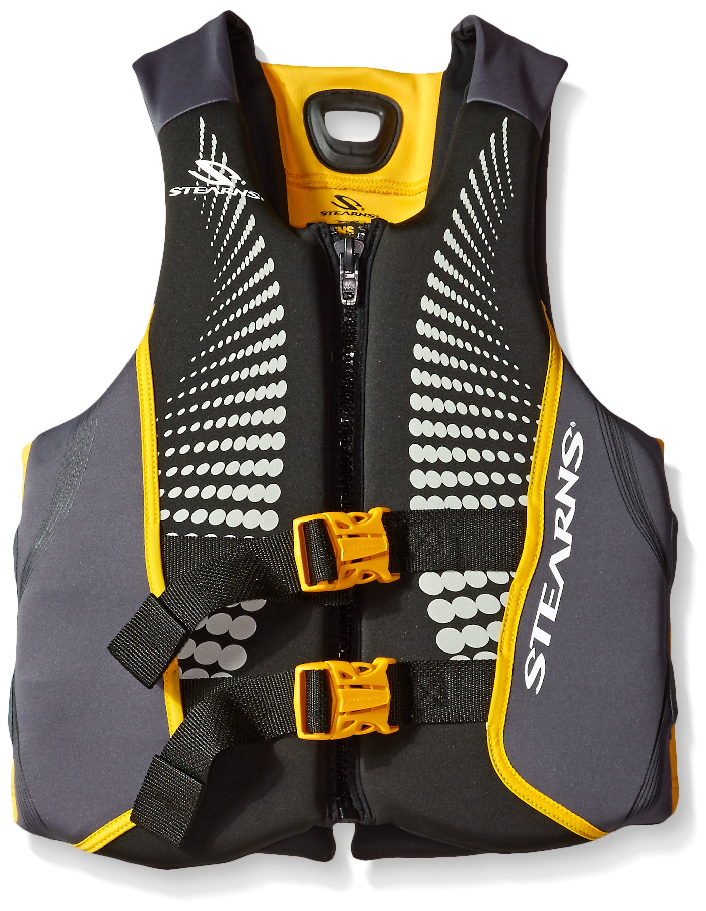 Stearns Men's V1 Series Hydroprene Life Jacket, Gold, X-Large by Stearns