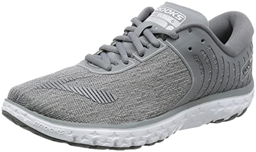 09a74b064ea Brooks Women s PureFlow 6 Running Shoe Heather Microchip Primer Grey Size  6.5 B