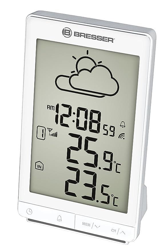 Bresser Temeo Trend STX estación meteorológica, Color Blanco ...