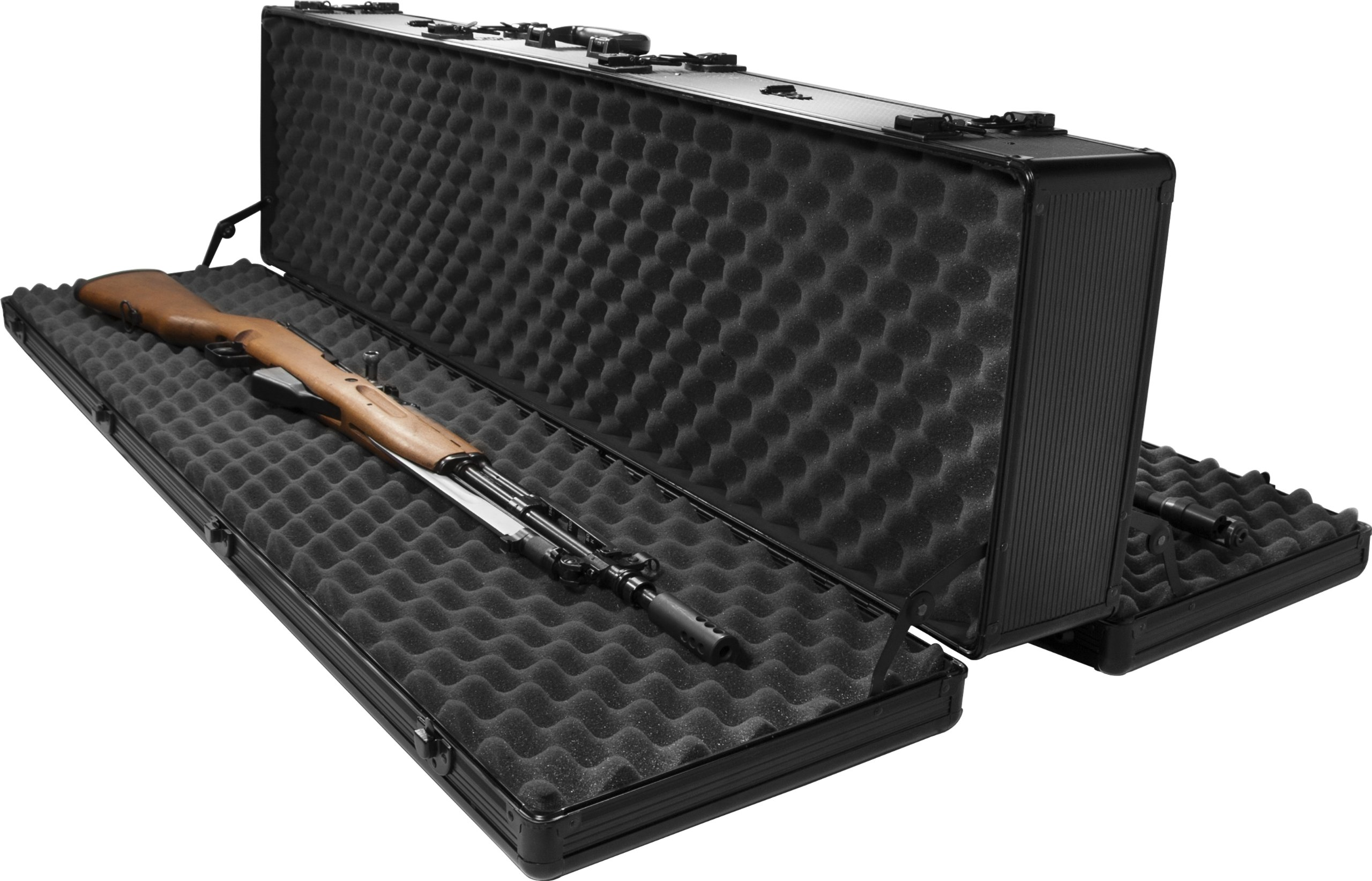 Barska BH11982  Loaded Gear AX-400 Hard Rifle Case, Black by BARSKA (Image #2)