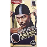 RED BY KISS POWER WAVE SILKY SATIN DURAG #HDUPP DUO COLOR MILITARY DOO RAG