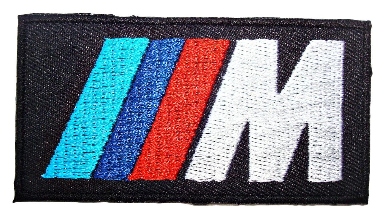 BMW M3 Series M Power Motorsport Logo Shirts Black Label Patches