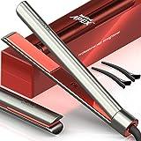 Bekind Apex 2-in-1 Hair Straightener Flat Iron, Straightener and Curler, Flat Iron for All Hair Styles, 15s Fast Heating, 5 T